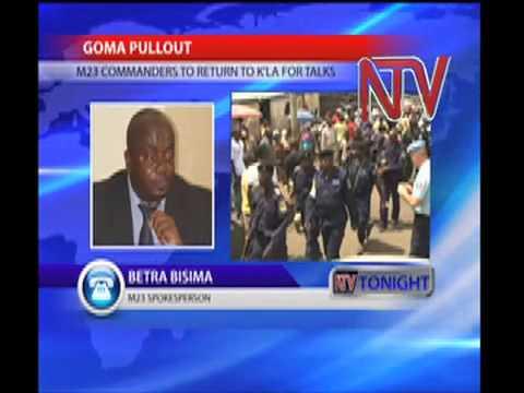 Kabila & M23 Commanders for Kampala talks.