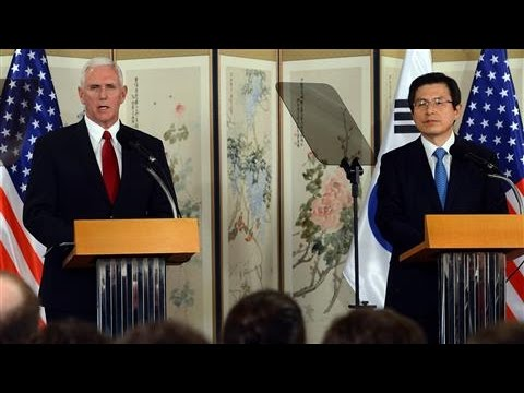 Pence Warns North Korea Not to Test Trump
