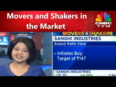 Movers and Shakers in the Market | Halftime Report | CNBC TV18