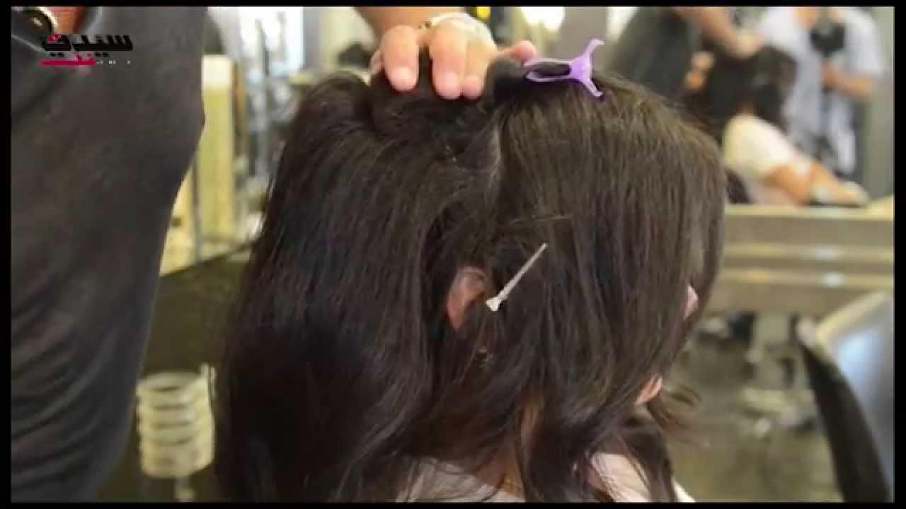 a4dd23f9de85d  تسريحة شعر انسيابيّة بعيدة عن التكلّف (يوميّات عروس سيدتي) - YouTube