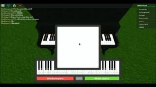 Roblox Piano Fur elise (SHEETS)