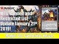 MTG B&R List Update: Krark-Clan Ironworks