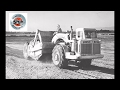 Classic earthmovers: The Euclid S-12 scraper in action