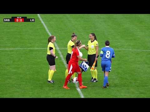2018 19 Women S U19 Euro Qualifying Round Serbia Vs