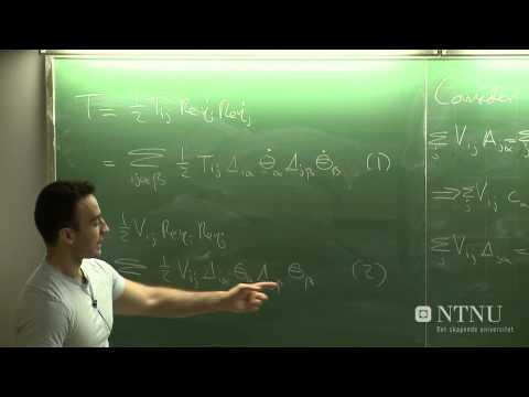 31: Normal coordinates and vibrations - Part 1