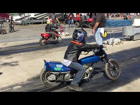 Children Race! Would You Let Your Kids Do This? Check Out Junior Drag Bike Racing!