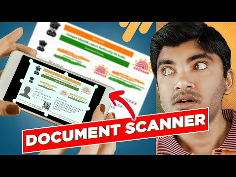Best Photo And Document Scanner App 2019 In Hindi | Android Apps For Photos Scanning | Tech Gyanclub