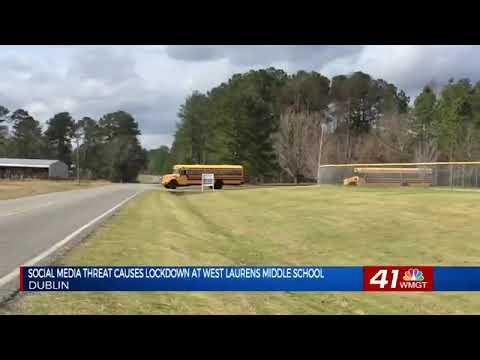Social media threat causes lockdown at West Laurens Middle School