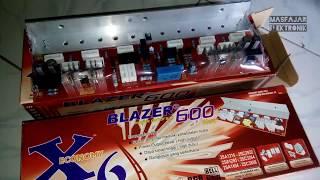 Spesifikasi Power Ampli Blazer x6 ( 600 watt)