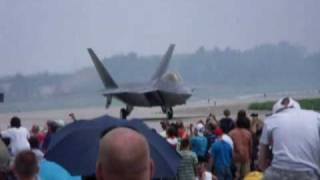 F22 Raptor at The Great Mn Air Show, St. Cloud, Mn.