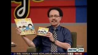 Bubbles of Love songs for children on most popular & most respected TV show in Indonesia: Kick Andy