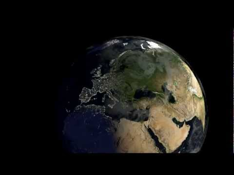 Welcome to Earth - Visualising the Earth's surface in Blender