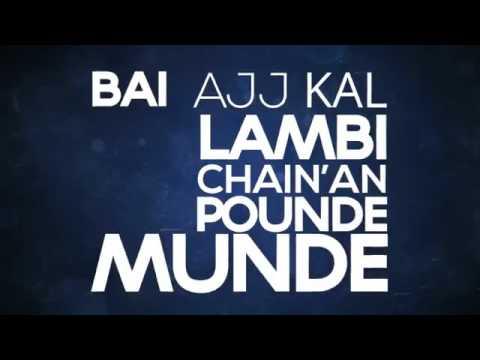 BOHEMIA Main 2015 New Single  Official Typography  Latest Punjabi Rap Son. bohemia rap star