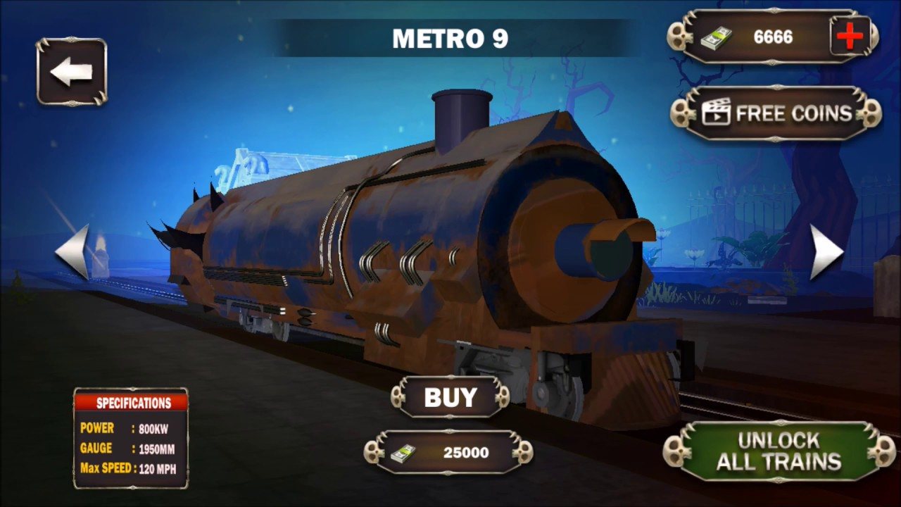 Ghost town horror tunnel train driving simulator apps on google play.