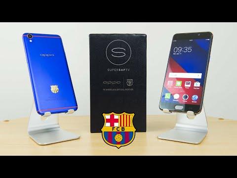Oppo F1 plus FC Barcelona smartphone