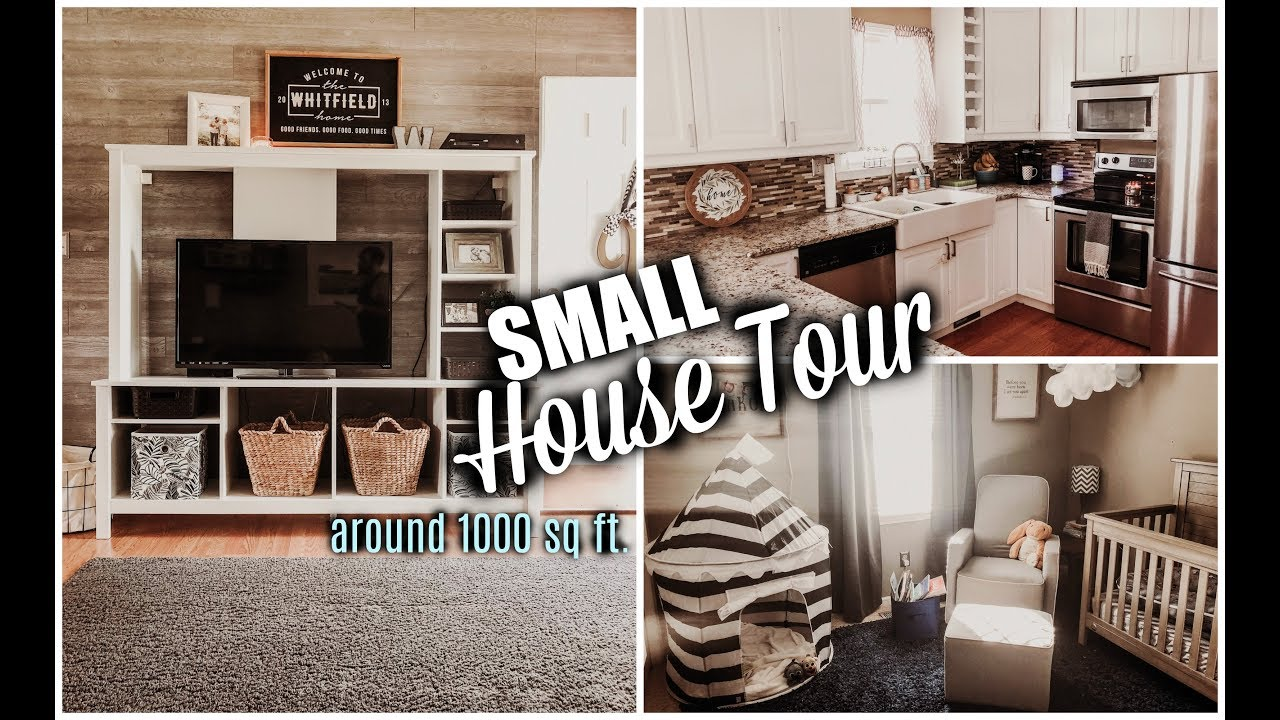 SMALL HOUSE TOUR | LIVING IN 1000 SQ FT. AS A FAMILY OF 4
