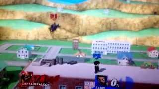 Shoa vs Trainer Play; Captain Falcon vs Mr Satan (Mii Brawler)