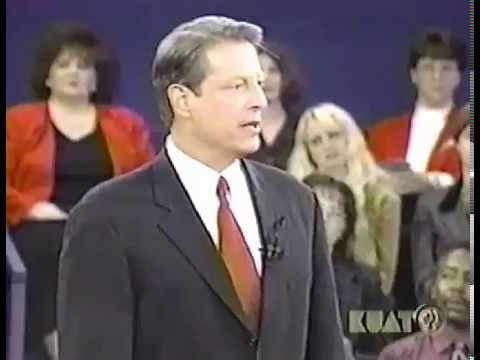 Full 2000 3rd U.S. Presidential Debate, George Bush and Al Gore