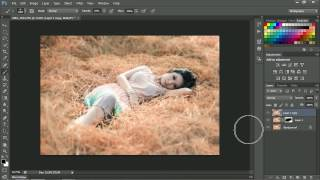 Simple Color Hue Saturation photoshop tutorial