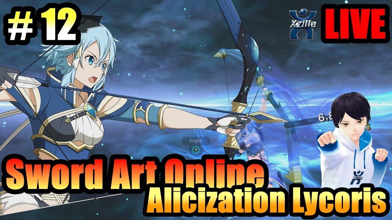 🔴LIVE: Sword Art Online Alicization Lycoris Ep.12