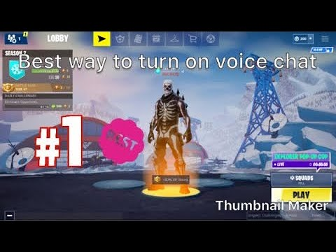 How To Use Voice Chat In Fortnite Mobile