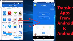 How to Transfer Apps from One Android Phone to Another (No Wi-Fi,No Bluetooth,No Mobile Data) ?
