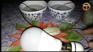 free energy experiment using blades | nice idea with shaving blade