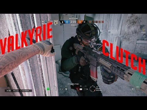 Valkyrie Clutch - Rainbow Six Siege