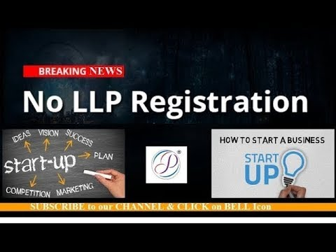 Why Government Suspends Registration of LLP in India Shocking News for S...