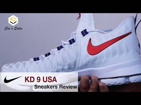 Nike KD 9 USA Sneaker Review