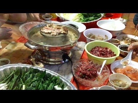 How to make  sinh jum sinh dard (Lao Food)Home Made By KAYSONE