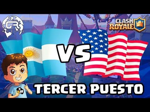 CR WORLDS | ARGENTINA VS USA | TERCER PUESTO | KmanuS88