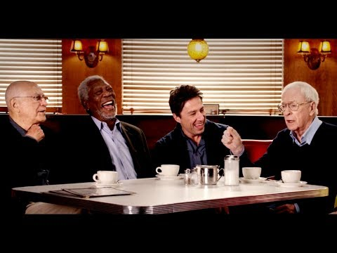 Actor's Roundtable with Morgan Freeman, Alan Arkin, Michael Caine, Zach Braff and AnnMargret