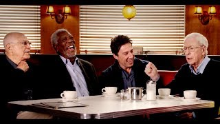 Actor's Roundtable with Morgan Freeman, Alan Arkin, Michael Caine, Zach Braff and Ann-Margret