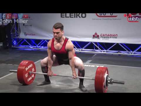 Taylor Atwood - 758kg 1st Place 74kg - IPF World Classic Powerlifting Championships 2018
