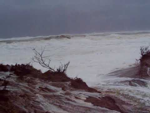 Storm Surge Cape Cod Nauset Light Beach 3/3/2018