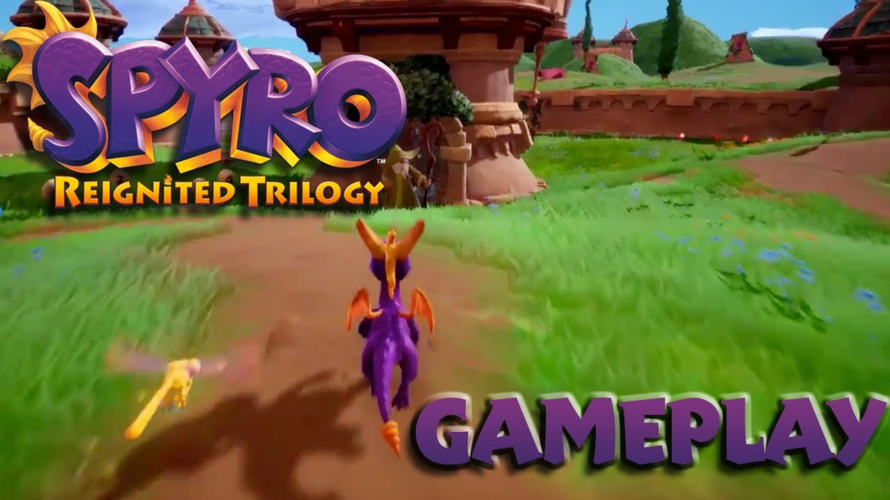 FIRST Glimpse of Spyro Gameplay!! IT'S AMAZING