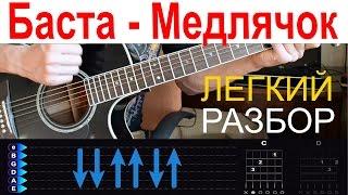 Баста - Выпускной (Медлячок). Разбор на гитаре с табами