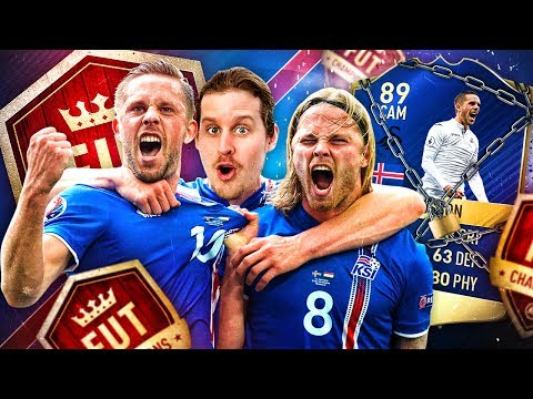 CAN WE DO IT!? THE BEST ICELAND CARD IN HISTORY! 89 TEAM OF THE SEASON SIGURDSSON! FIFA 17