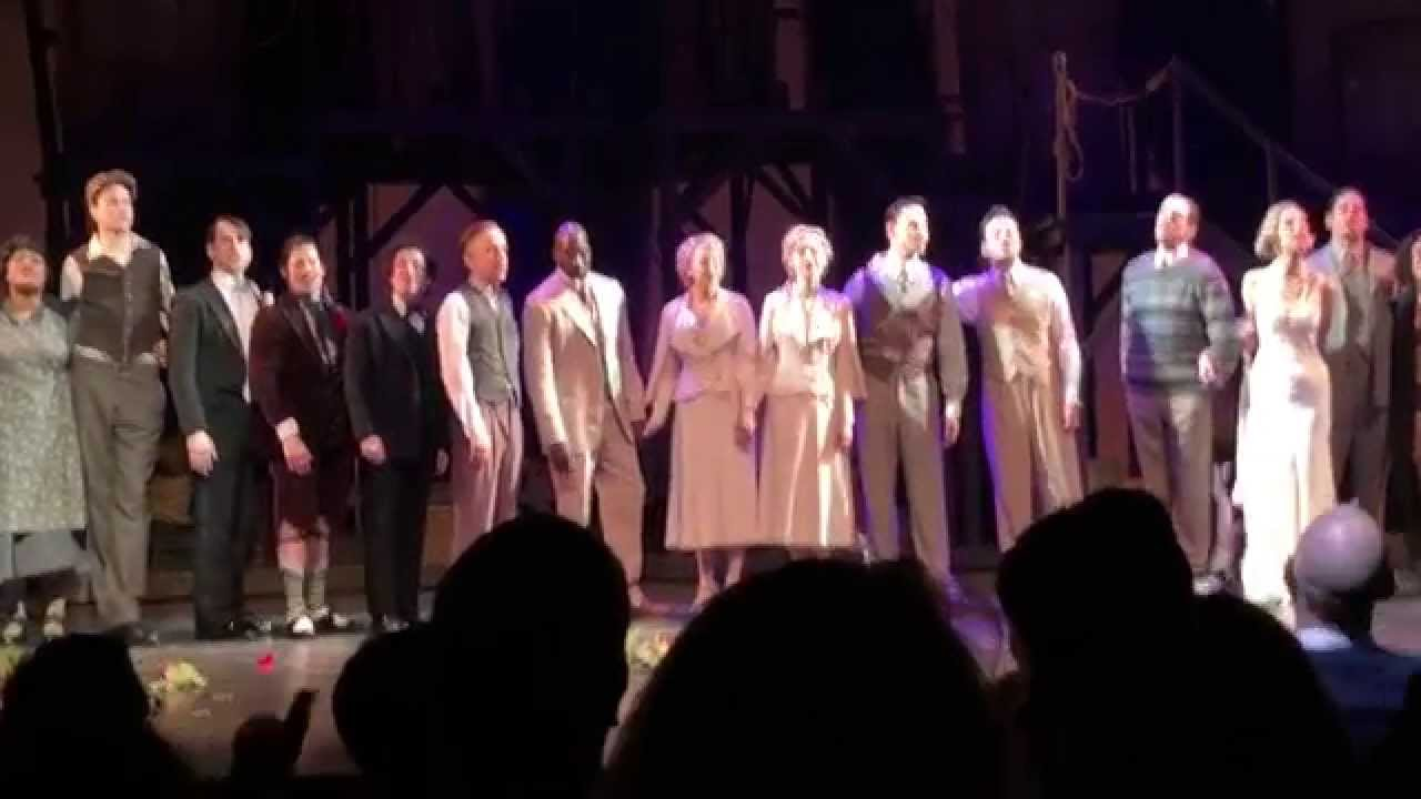 Side Show Broadway Final Curtain Call 1 4 15 HD