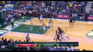 Toronto Raptors vs Milwaukee Bucks - Full Game Highlights | Game 4 | April 22, 2017 | NBA Playoffs