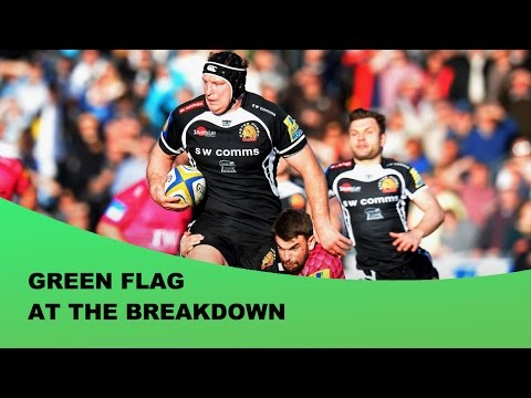 Green Flag At The Breakdown - Forward of the Month – March 2015