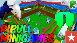 ROBLOX Ripull Minigames #1 Four corners, Lava Dip, Z pocalypse , and more