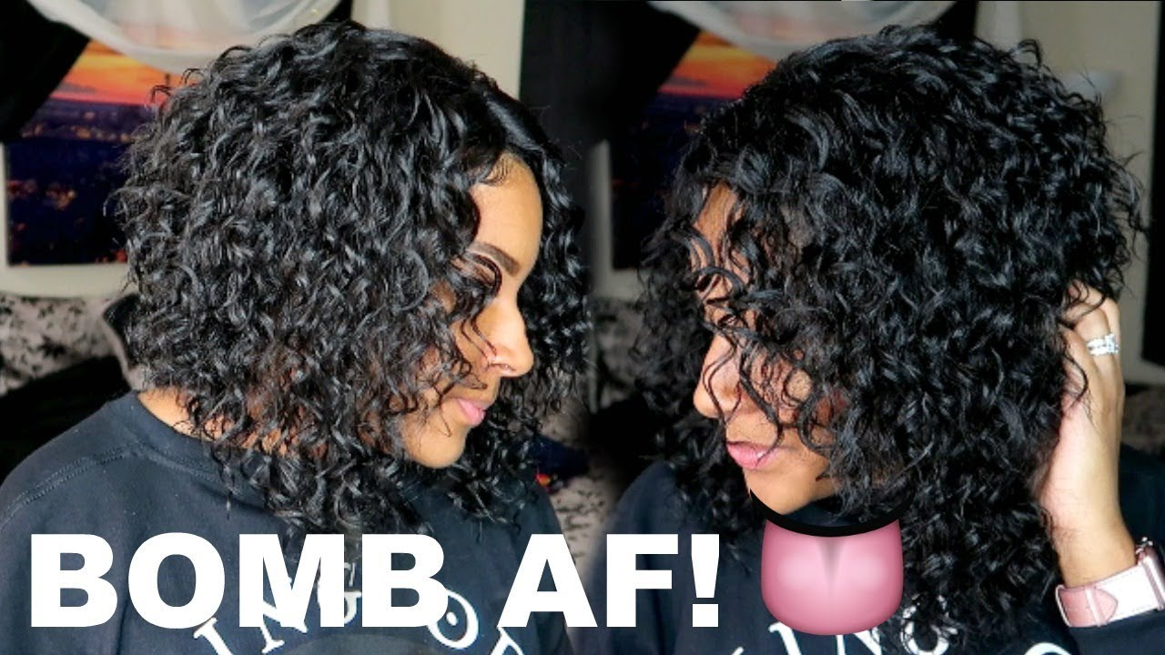 Curly A Line Bob For Spring 18 Zury Sis Elisa Wig Youtube