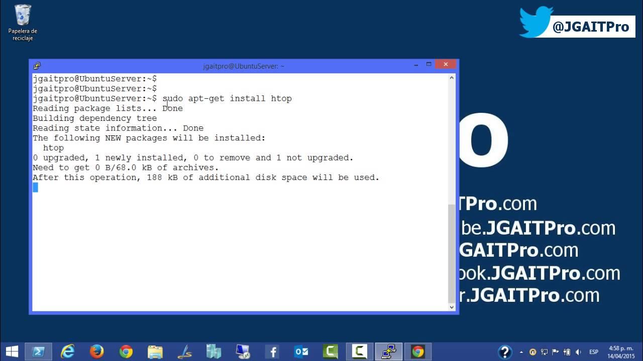 Ubuntu Server - Instalar paquetes