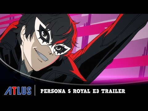 Persona 5 Royal E3 2019 trailer teases the game's English dub