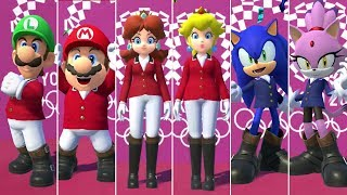 Mario & Sonic at the Olympic Games Tokyo 2020 - Equestrian (All Characters)