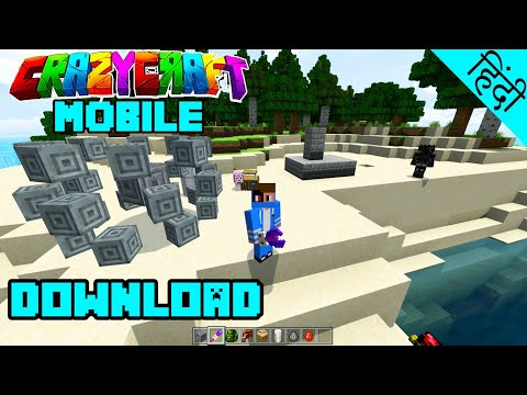 CrazyCraft Mobile Download - Minecraft PE In Hindi