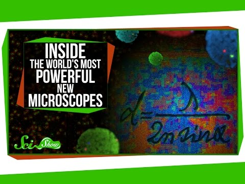 Inside The World's Most Powerful New Microscopes