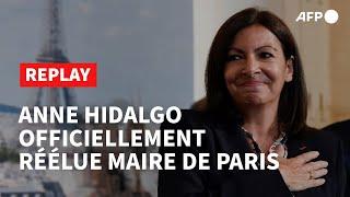 Replay - Le Premier Discours D'anne Hidalgo, Réélue Maire De Paris